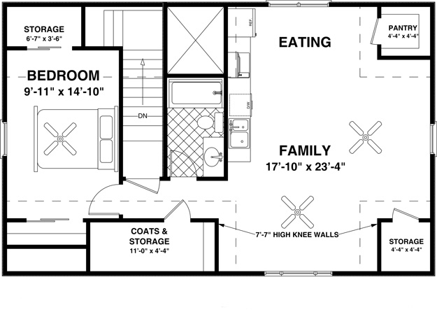 Garage With Living Quarters Floor Plans