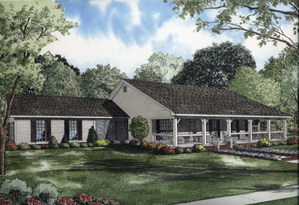 Country House Plans With Porches