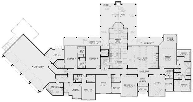 European House Plan 152024 Ultimate