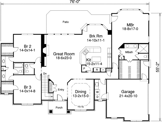 Traditional House Plan 321007 Ultimate Home Plans