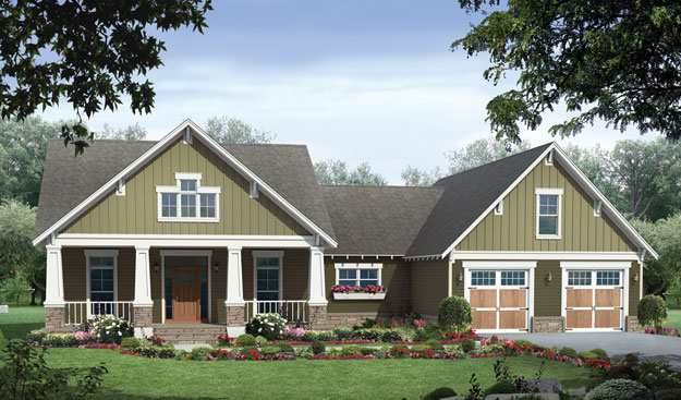 SMALL CRAFTSMAN HOME PLANS House Design