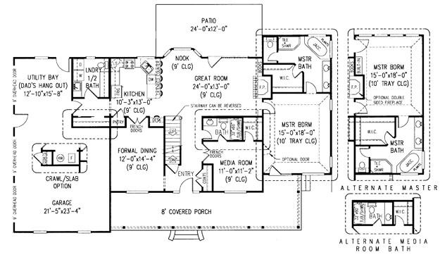 farmhouse house plan 421019 ultimate home plans