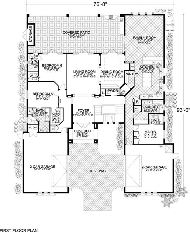 Ultimate Mediterranean Home Plans Home Plan