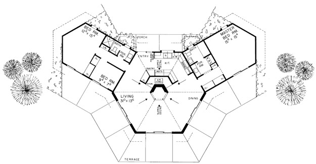 House plans home plans and floor plans from ultimate plans for Different floor plans for house